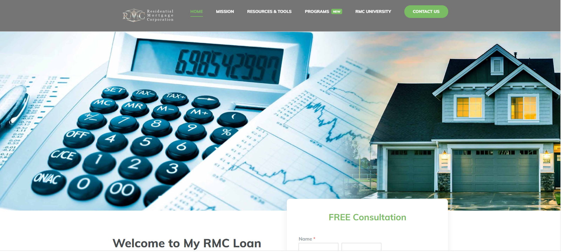 my rmc loan