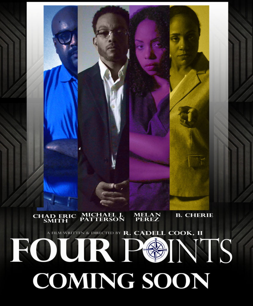4 Point Movie Poster Design